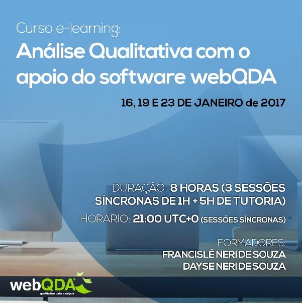 webQDA e-learning