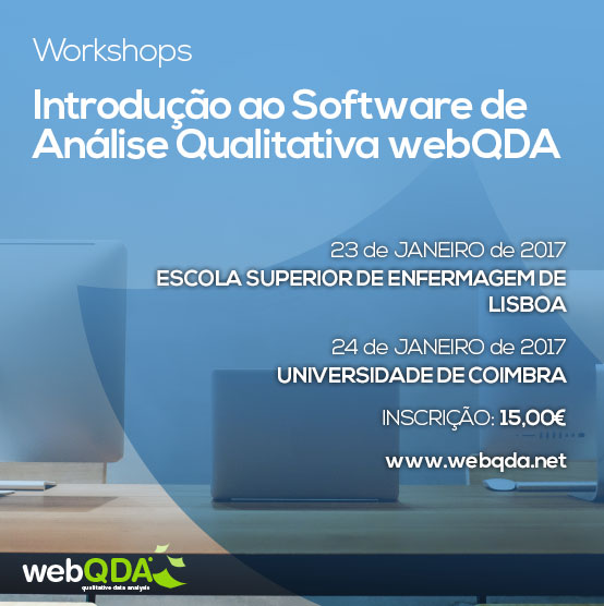 Workshops webQDA
