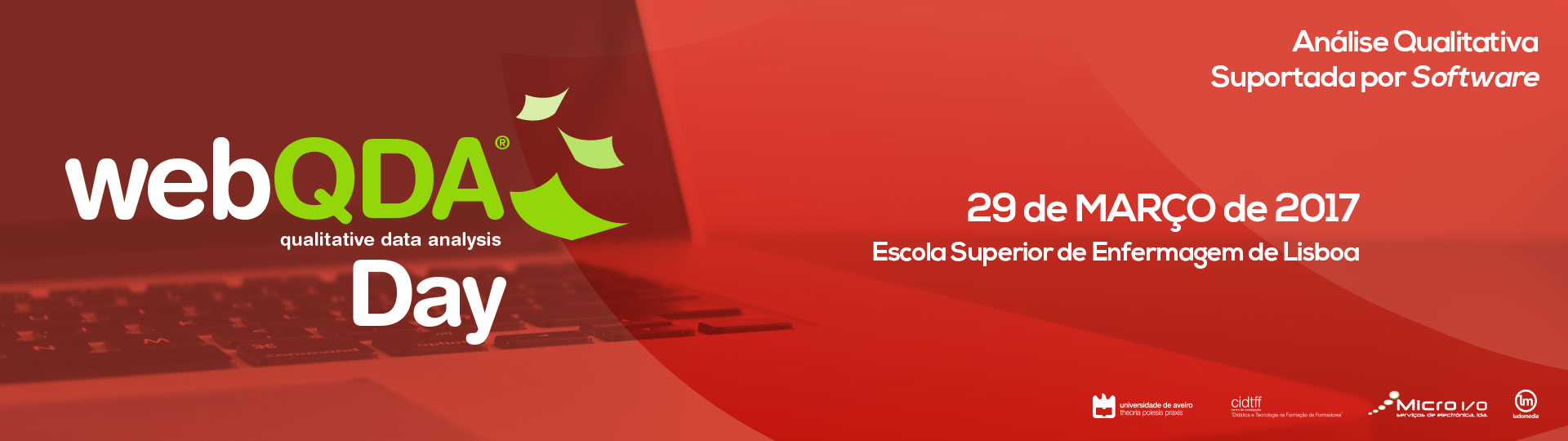 Banner webQDA Day ESEL