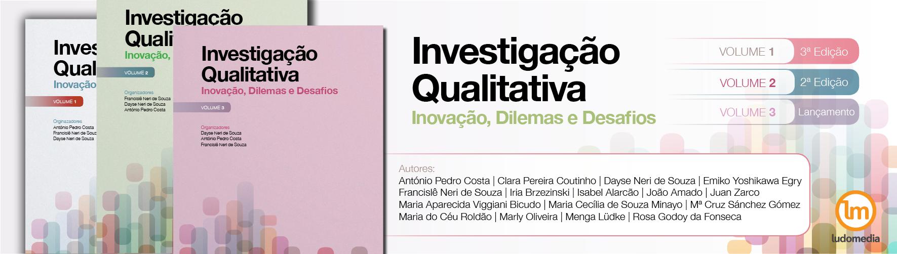 Livros Investigação Qualitativa