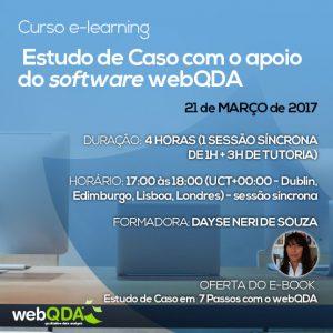 Curso e-learning Estudo de Caso webQDA