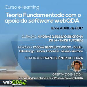 Curso e-learning Teoria Fundamentada webQDA