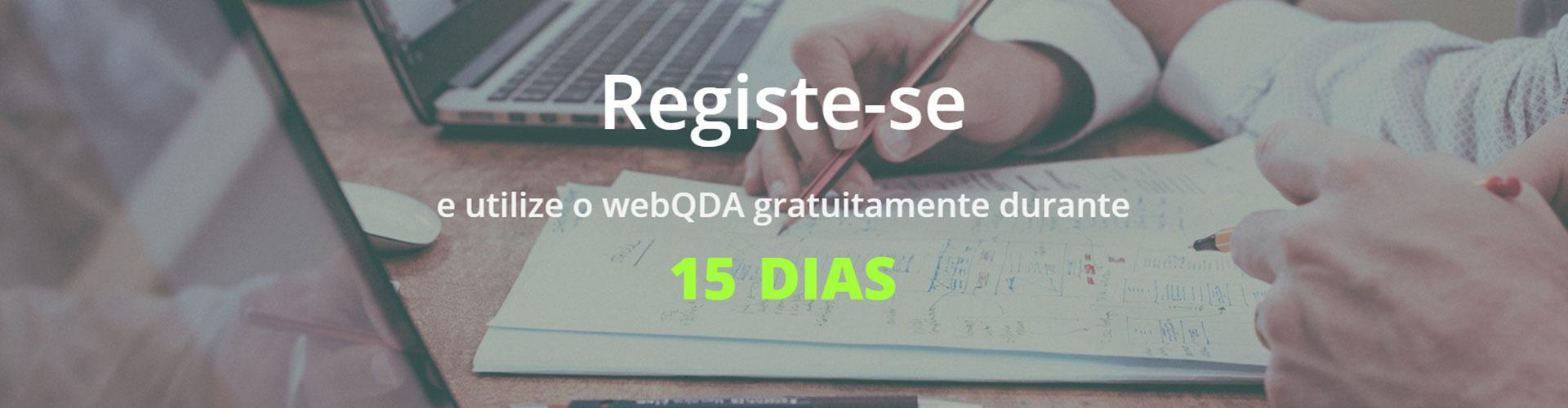 Registo webQDA