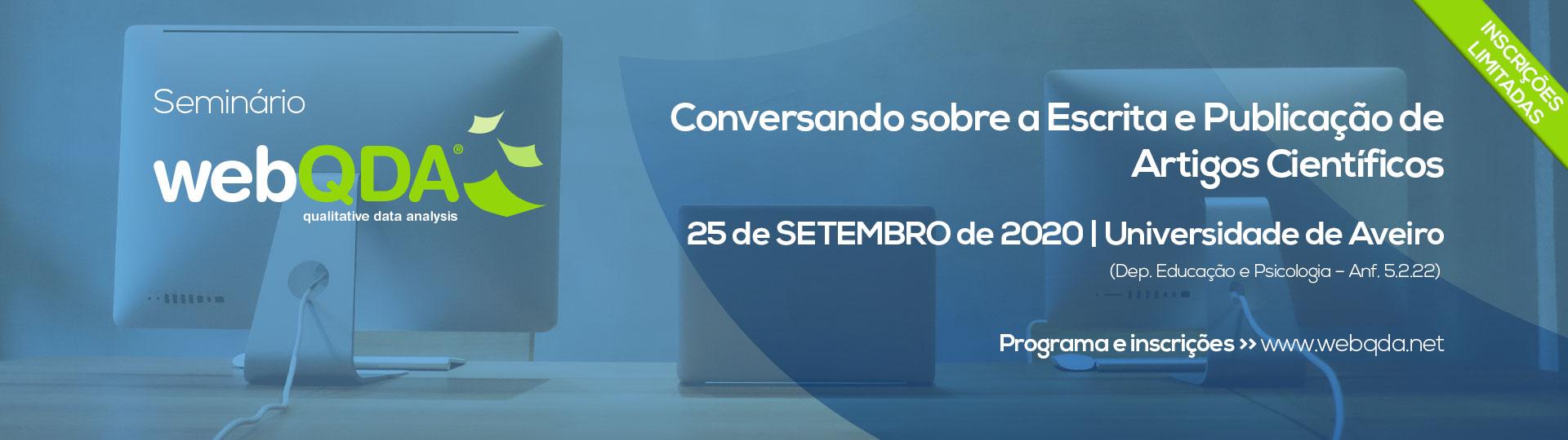 Seminario webQDA Universidade de Aveiro