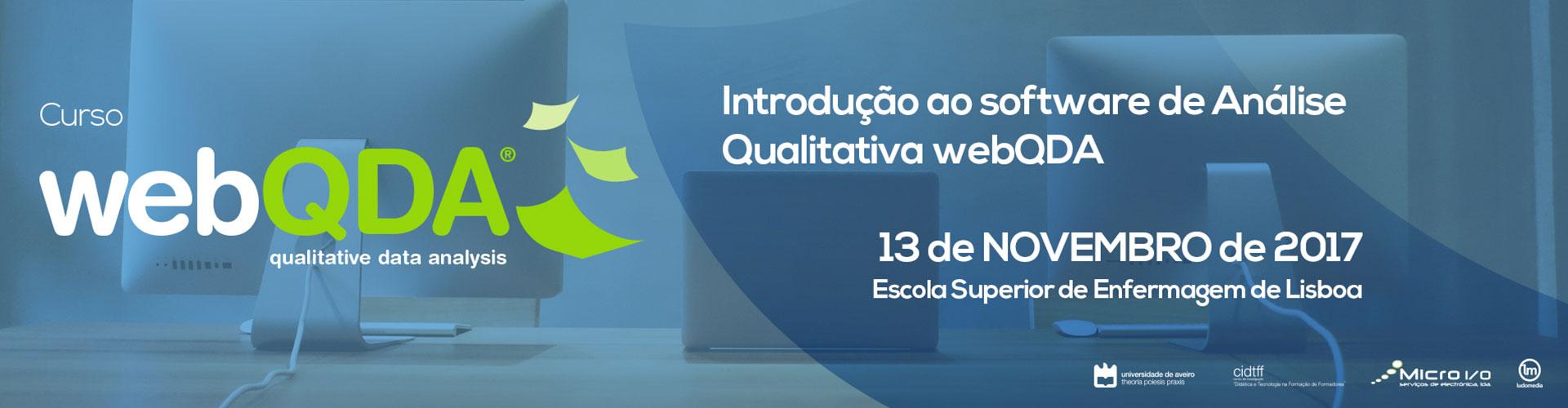 Curso Introdução webQDA