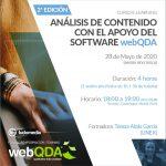 Curso E-learning: Análisis de Contenido con el apoyo del software webQDA