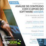 Curso e-learning Análise de Conteúdo com o apoio do software webQDA