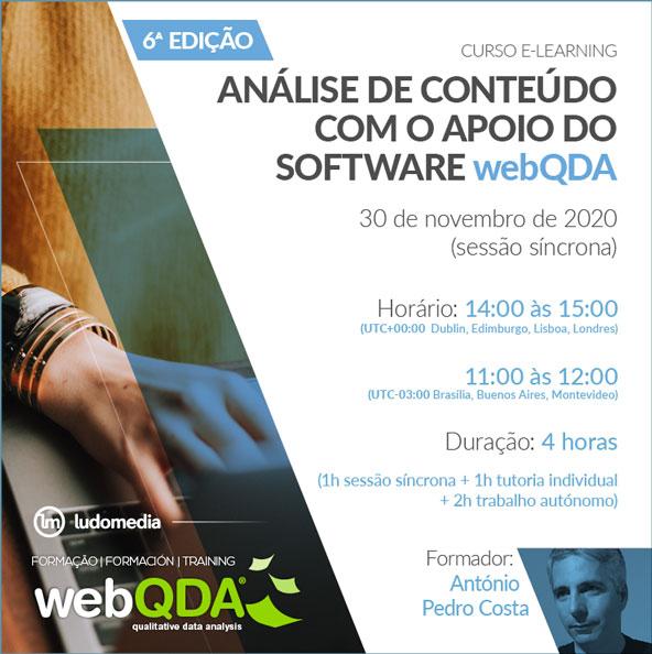 Curso Elearning Análise de Conteúdo com o webQDA