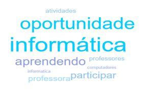 projeto aluno monitor nuvem de palavras webQDA