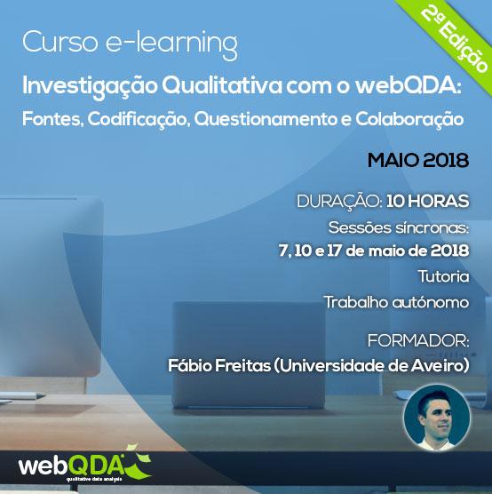 Curso e-learning Introdução webQDA