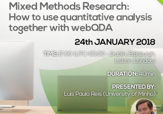 Mixed Methods Research: How to use quantitative analysis together with webQDA