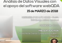 Webinar Análisis de Datos Visuales con el apoyo del software webQDA