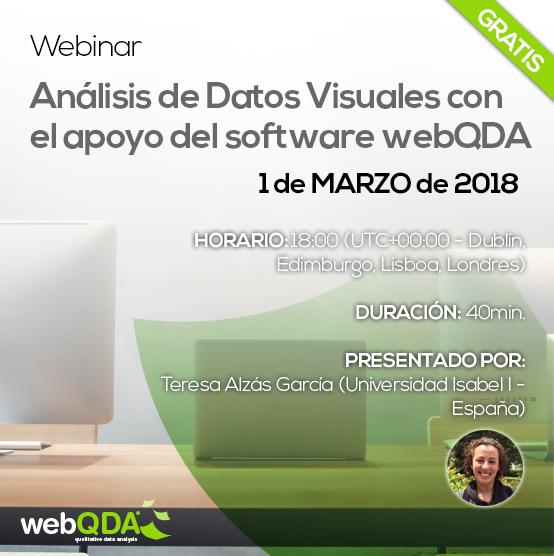 Webinar webQDA Datos Visuales