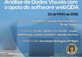 Curso e-learning Análise de Dados Visuais com o apoio do software webQDA