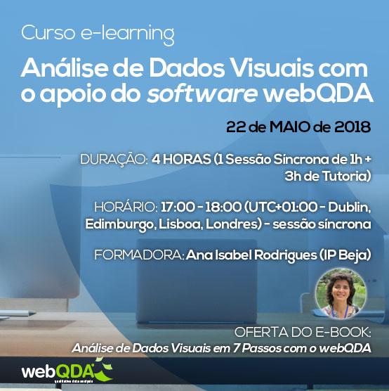 Curso e-learning análise dados visuais webQDA