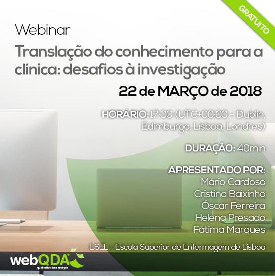 Webinar ESEL webQDA