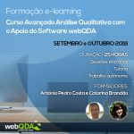 Curso E-learning Avançado: Análise Qualitativa com o Apoio do Software webQDA