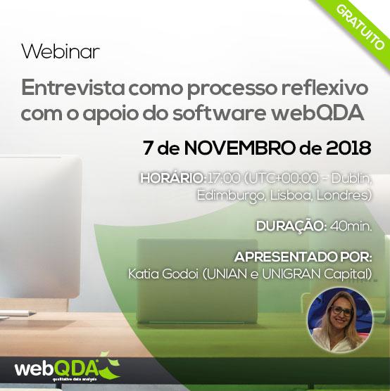 Entrevista Reflexiva com o webQDA