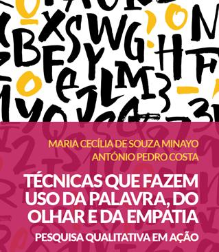 """Lançamento do livro """"Técnicas que fazem uso da palavra, do olhar e da empatia: pesquisa qualitativa em ação"""" (Rio de Janeiro)"""