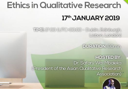 Webinar Ethics in Qualitative Research