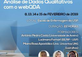 Workshop Avançado de Análise de Dados Qualitativos com o webQDA