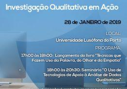 Seminário:  Investigação Qualitativa em Ação (ULP)
