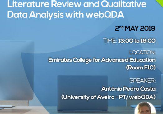 Seminar Literature Review and Qualitative Data Analysis with webQDA