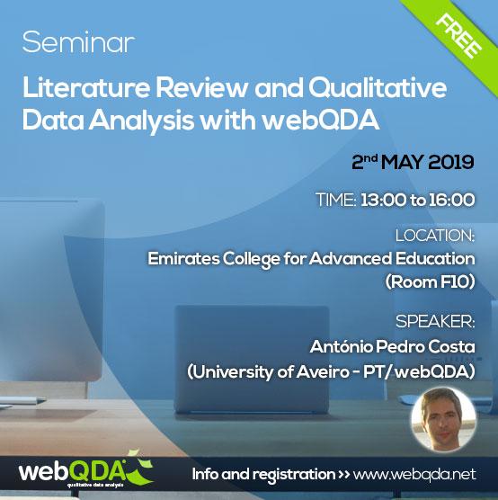 Seminar webQDA ECAE