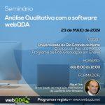 Seminário Análise Qualitativa com o Software webQDA (UERN)