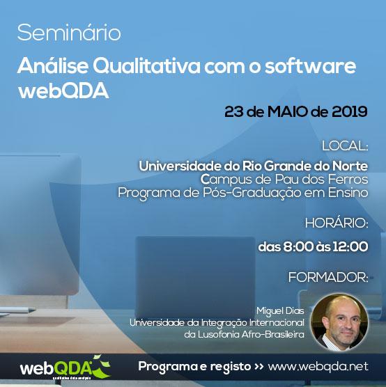 Seminário webQDA URGN 2019