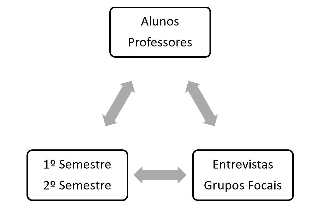 Figura 1 – Triangulação webQDA