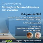 Curso e-learning Otimização da Revisão da Literatura com o webQDA