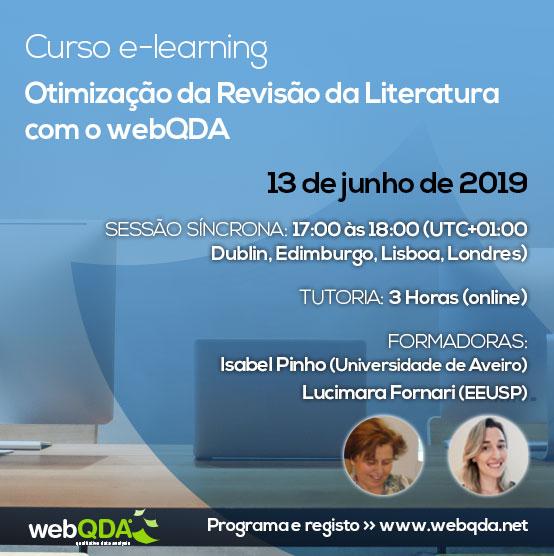 Curso e-learning Revisão de Literatura com o webQDA