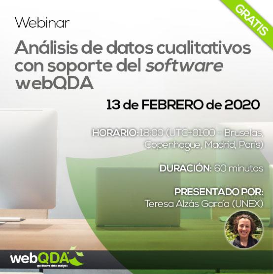 Webinar webQDA en español