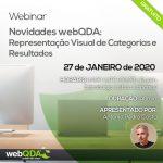 Webinar Novidades webQDA: Representação Visual de Categorias e Resultados