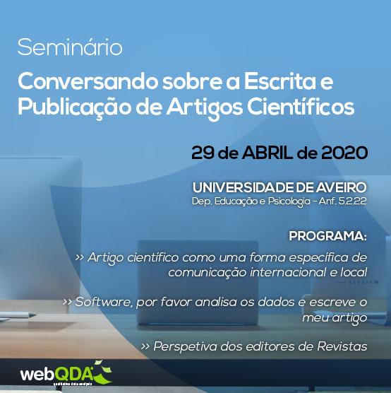 Seminário webQDA UA