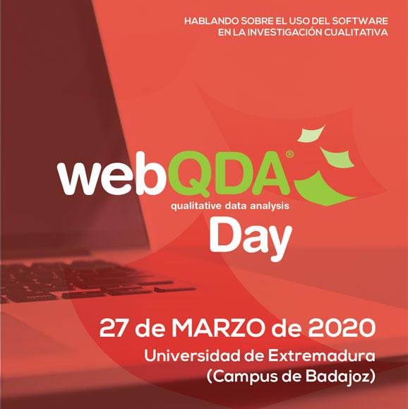 webQDA Day Badajoz 2020