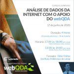 Curso e-learning Análise de Dados da Internet com o apoio do webQDA