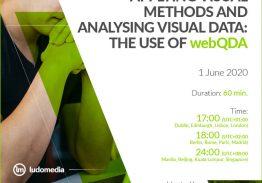 Webinar Applying visual methods and analysing visual data: the use of webQDA