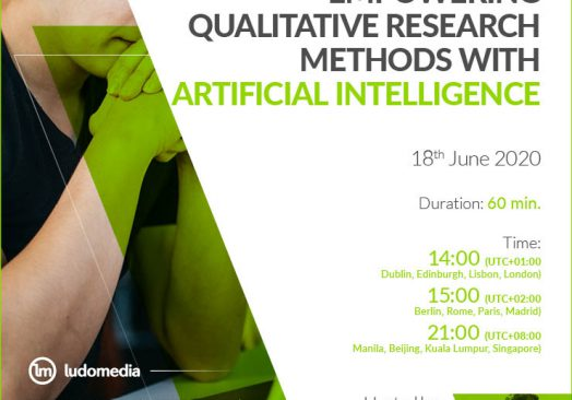 Webinar Empowering qualitative research methods with artificial intelligence