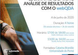 Curso e-learning Escrita Académica e Análise de Resultados com o webQDA
