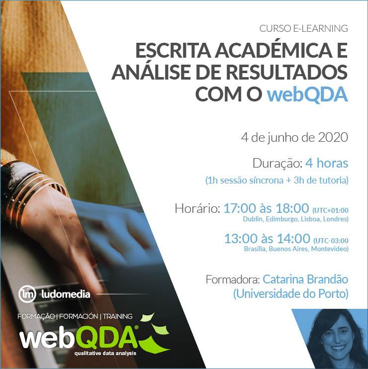 Curso Elearning Escrita Académica webQDA