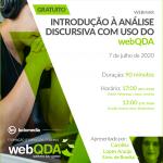 Webinar Introdução à Análise Discursiva com uso do webQDA