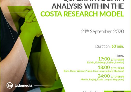 Webinar Qualitative Data Analysis within the COSTA Research Model