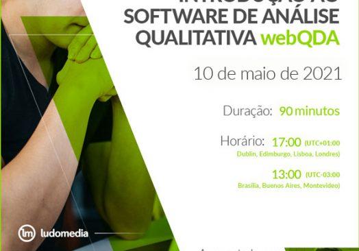 Webinar: Introdução ao software de análise qualitativa webQDA