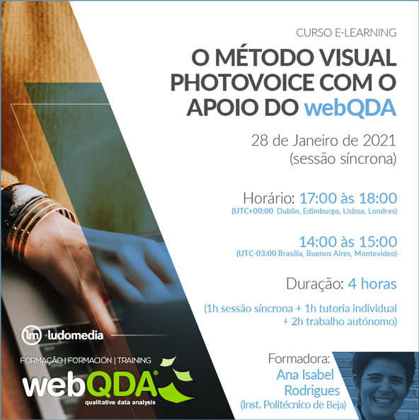 Curso Online Photovoice webQDA