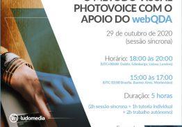 Curso E-learning O Método Visual Photovoice com o Apoio do WebQDA