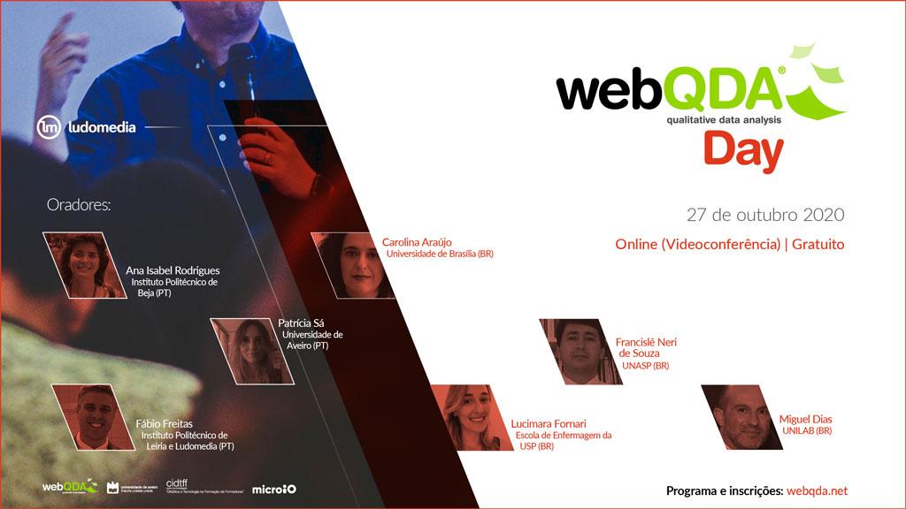 webQDA Day 2020 Online