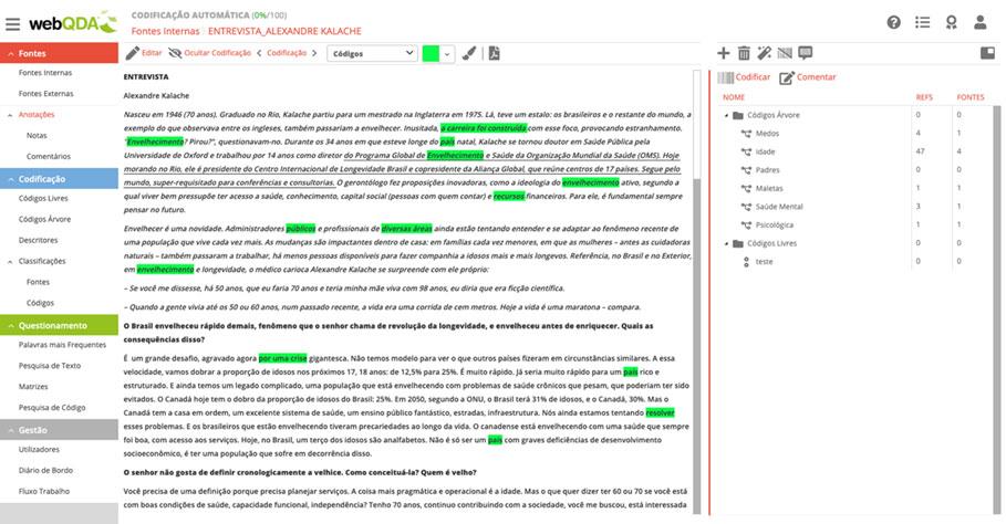 Codificação Indutiva de Unidades de Texto