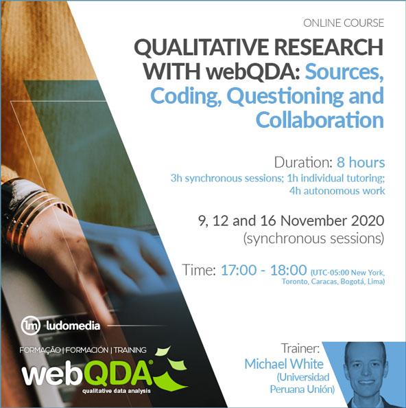 Online Course webQDA software